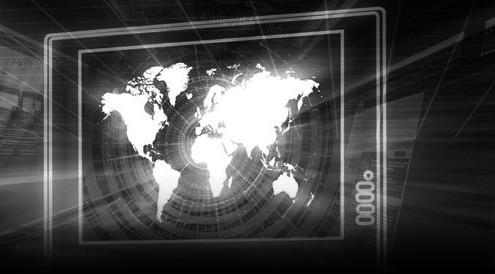 schermo mondo BN