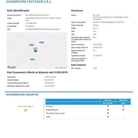 Report Impresa Base