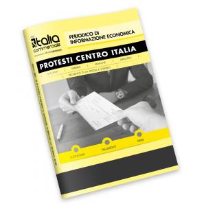 EDITORIA - Bollettino Protesti per la onsultazione riguardante i soggetti protestati di Toscana, Umbria, Marche, Abruzzo e le province di La Spezia e Viterbo